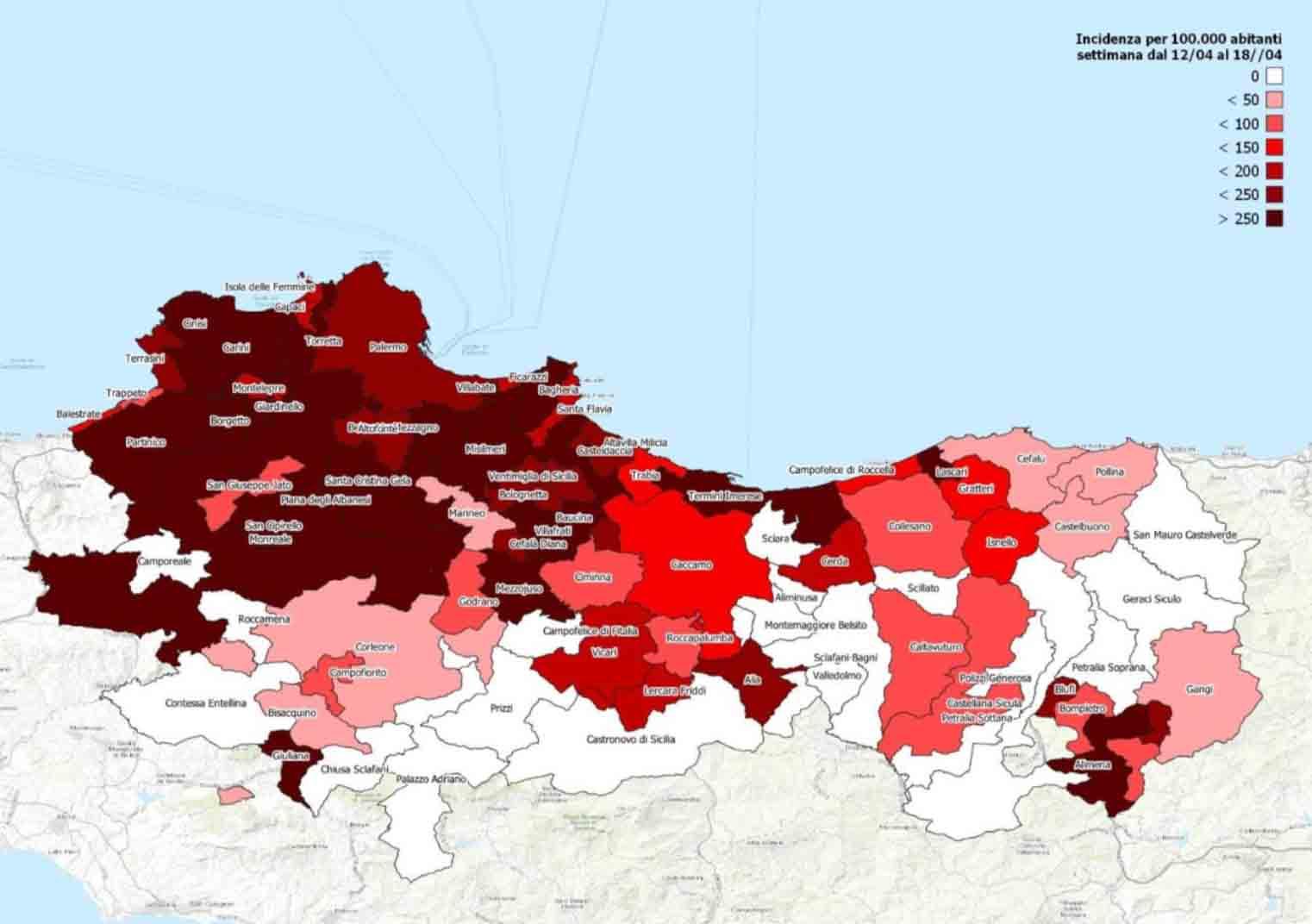 """Palermo e parte della provincia zona rossa, Costa (Commissario Covid): """"Non buttiamo via tutti i nostri sacrifici"""""""