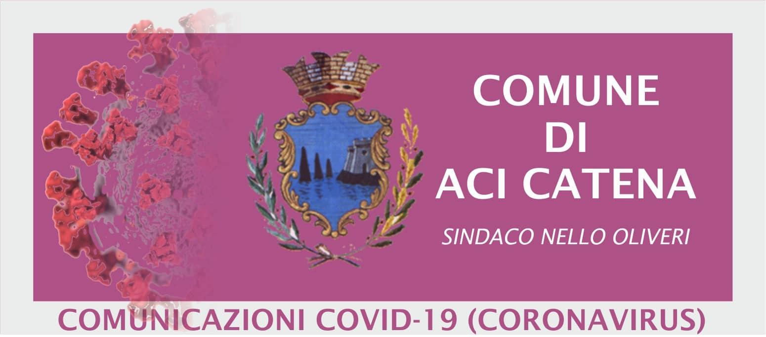 """Covid Catania, ancora contagi e soggetti in quarantena ad Aci Catena: il sindaco: """"Vacciniamoci"""""""