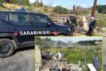 Sequestrata discarica abusiva nel Catanese: denunciato il proprietario del fondo agricolo