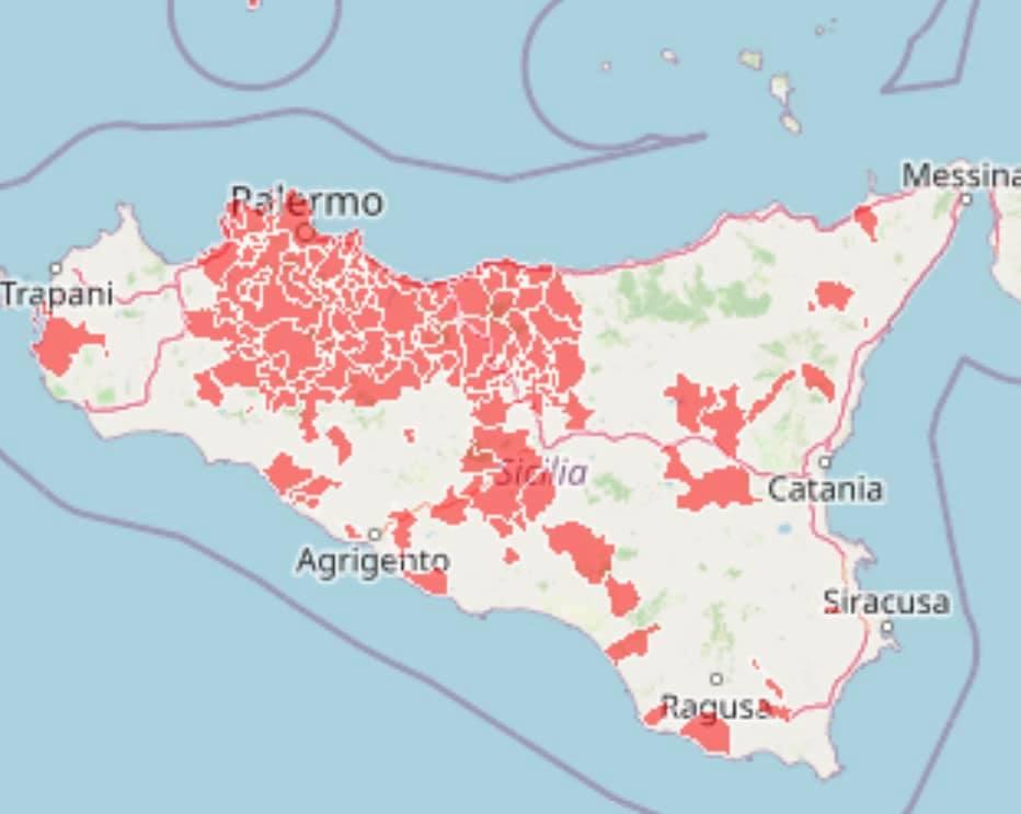 Sicilia vicina al lockdown: 4 nuovi comuni in zona rossa nelle province di Catania, Enna e Caltanissetta