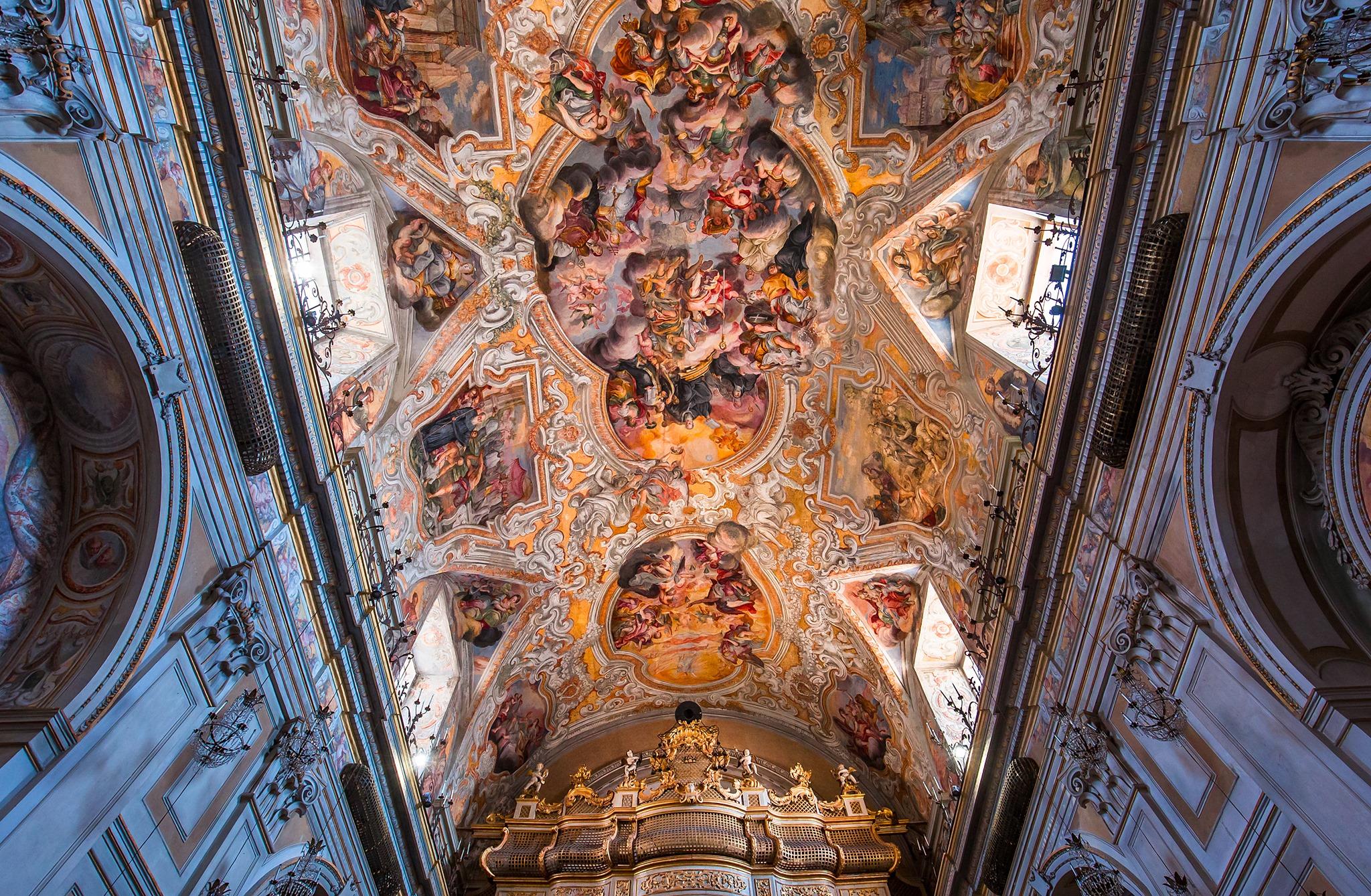 Catania, riprendono le visite guidate al Monastero delle Benedettine e Chiesa di San Benedetto