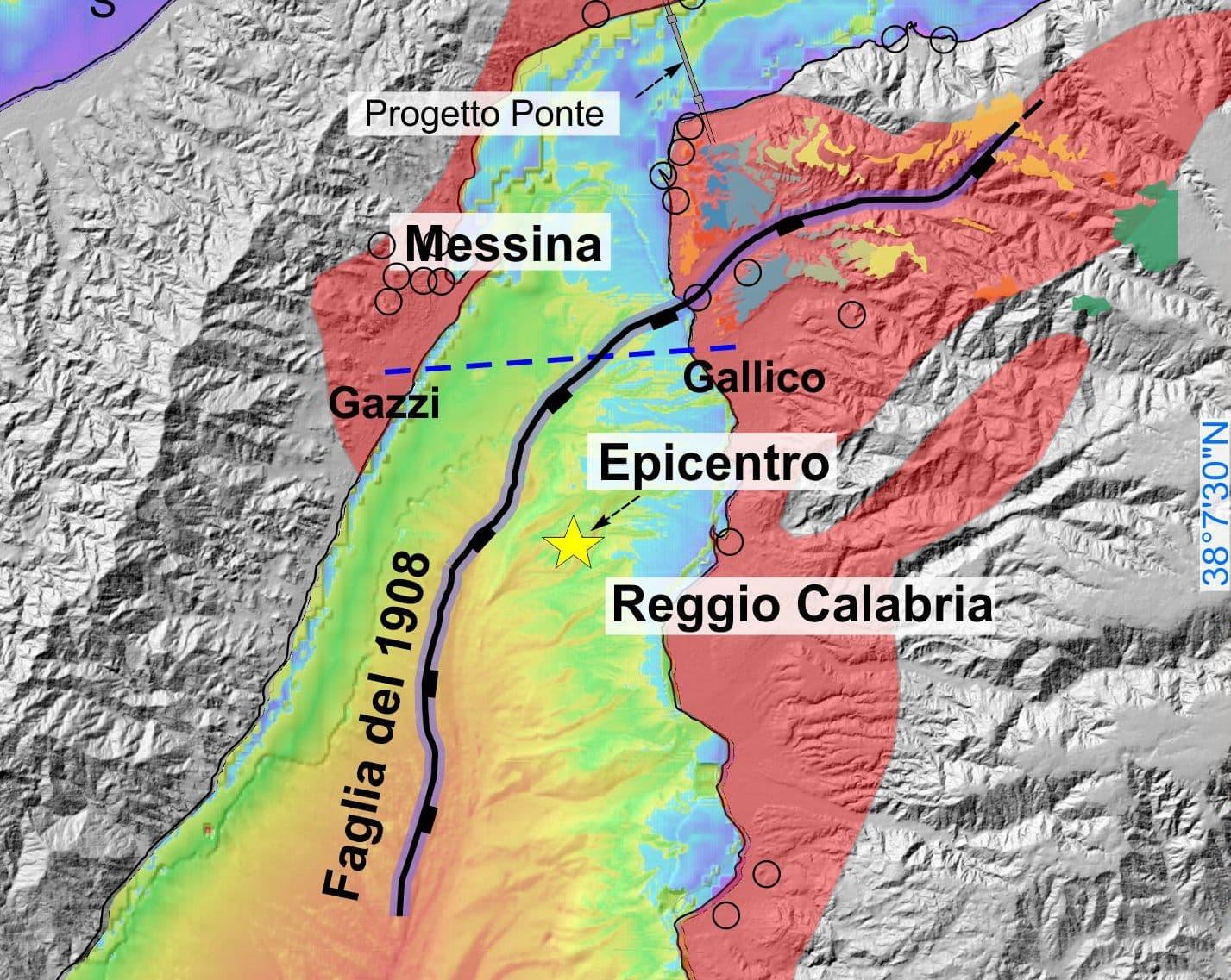 """Terremoto di Messina, scoperta da Unict la faglia del 1908: """"In grado di scatenare sismi 6,9 di magnitudo"""""""
