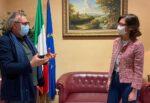 """Dalla campagna vaccinale alla ripartenza, il ministro Gelmini incontra Totò Martello: """"Massimo supporto dello Stato"""""""