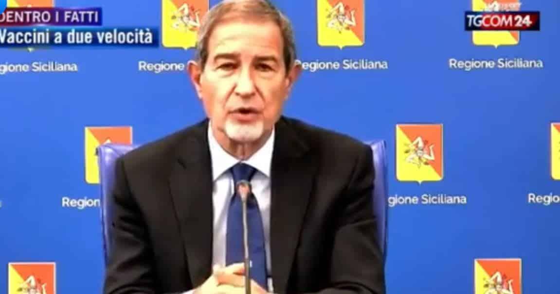 Covid Sicilia, il vero problema sono i vaccini agli anziani o lo scetticismo contro AstraZeneca? Le dichiarazioni di Musumeci – VIDEO
