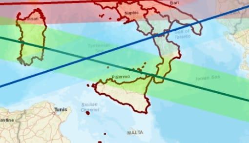 """Razzo cinese in caduta, il Comune di Palermo avvisa i cittadini: """"Restate in casa e lontano da finestre"""""""