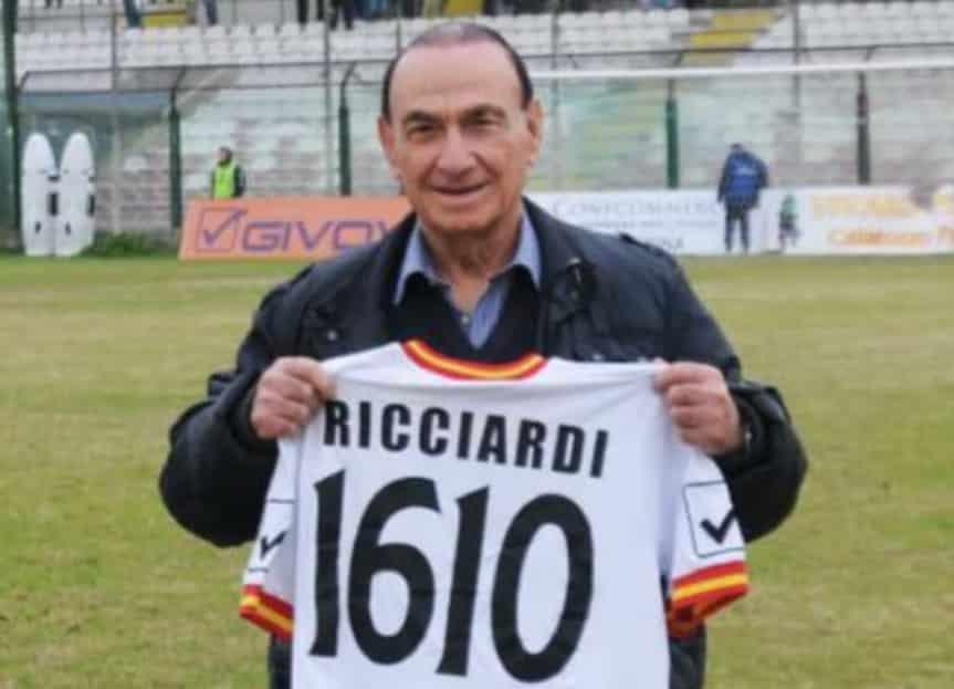 """Addio a Filippo Ricciardi, la Messina sportiva piange il medico sociale giallorosso: """"Addio dottore!"""""""