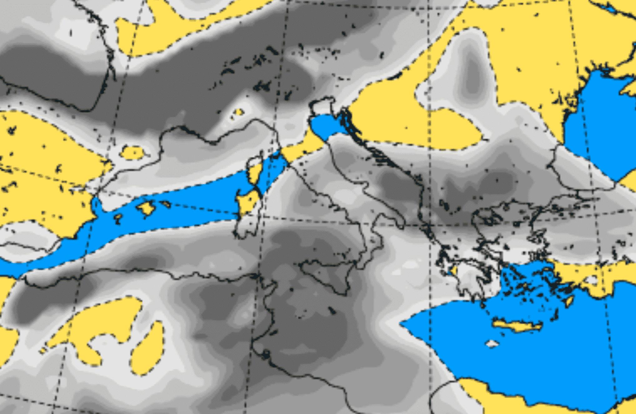 Previsioni Palermo e provincia, temporali e rovesci sparsi: allerta meteo per le prossime 24 ore