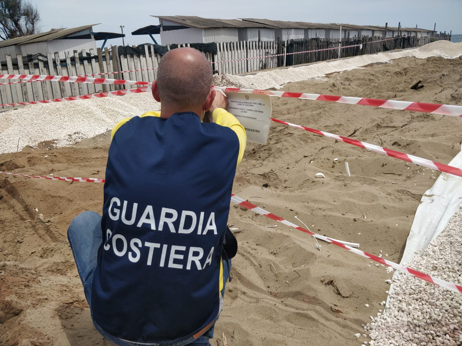 Sequestro alla Playa di Catania, due campi da paddle quasi realizzati ma senza autorizzazioni – DETTAGLI