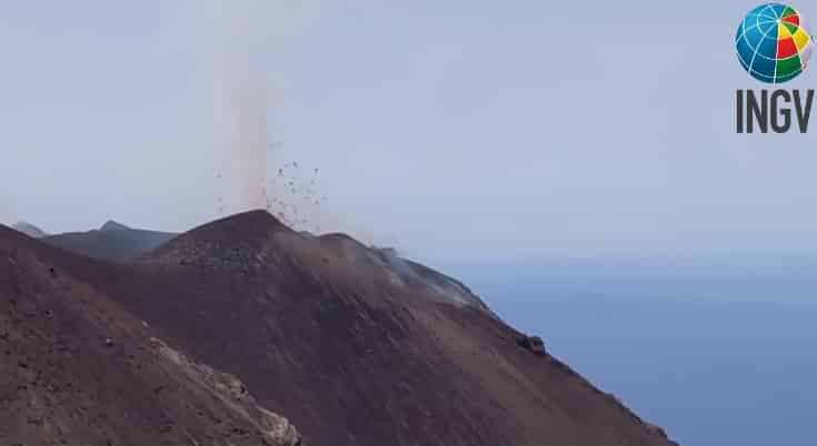 Stromboli, AGGIORNAMENTO sull'attività vulcanica in corso: parola all'Ingv