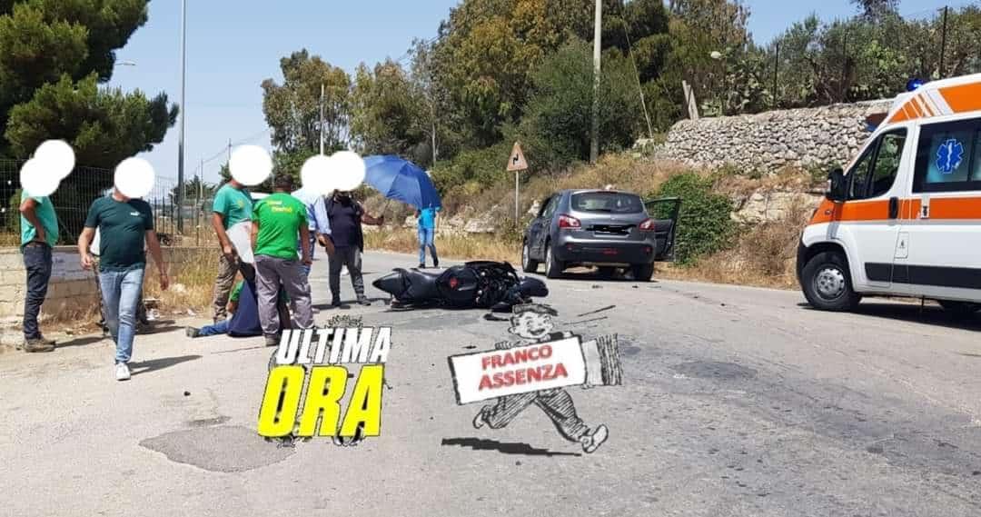 Scontro Suv e moto: 3 feriti gravi, donna estratta dalle lamiere e trasportata al Cannizzaro – FOTO