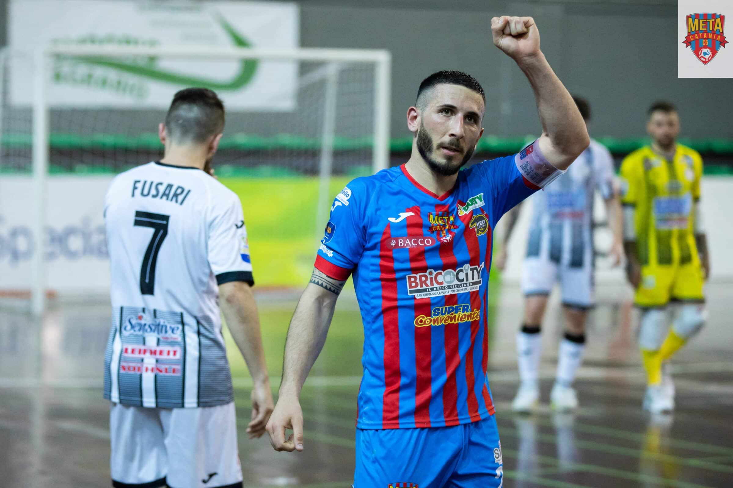 Futsal, via ai playoff scudetto per la Meta Catania Bricocity: gara 1 contro Acqua&Sapone