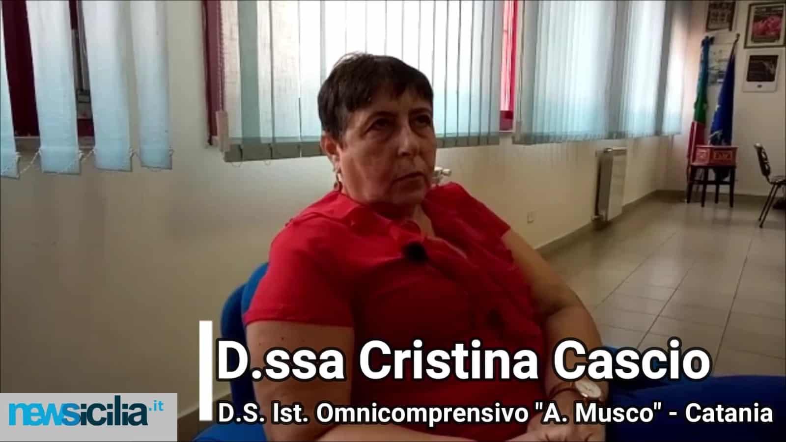 """Traguardo di fine anno scolastico all'Istituto Omnicomprensivo """"A. Musco"""" di Catania – La VIDEO INTERVISTA alla Dirigente Cascio"""
