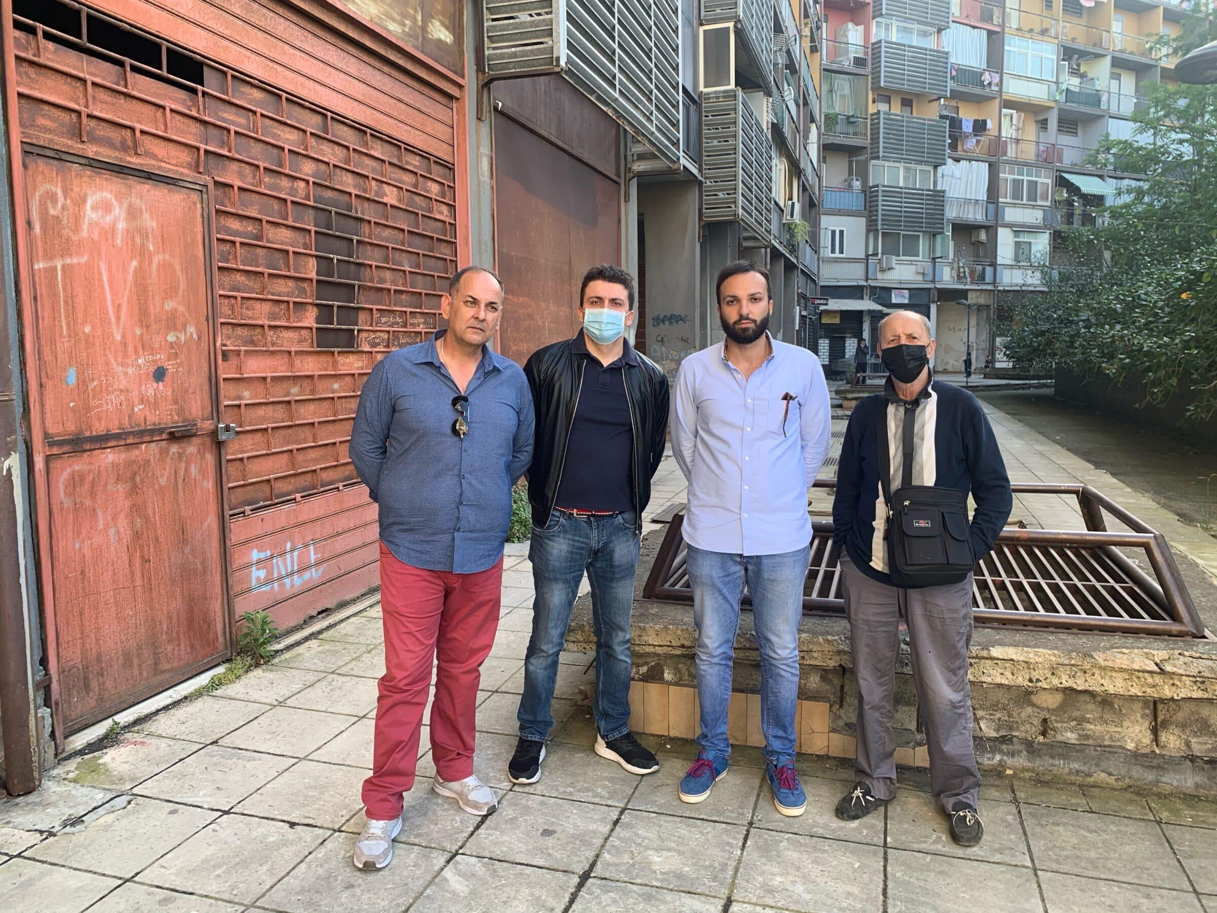 """Catania, grate pericolanti e rischio amianto a Librino. Giacone: """"Non si possono abbandonare i cittadini"""""""