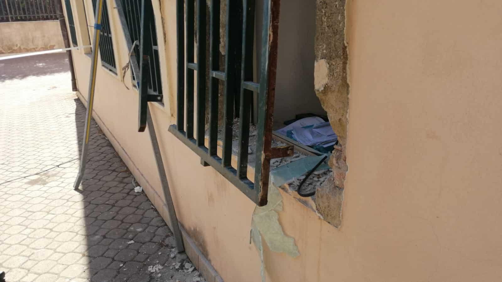 """Furto all'istituto Fontanarossa, Saverino: """"I criminali non accettano legalità, servono iniziative mirate"""""""