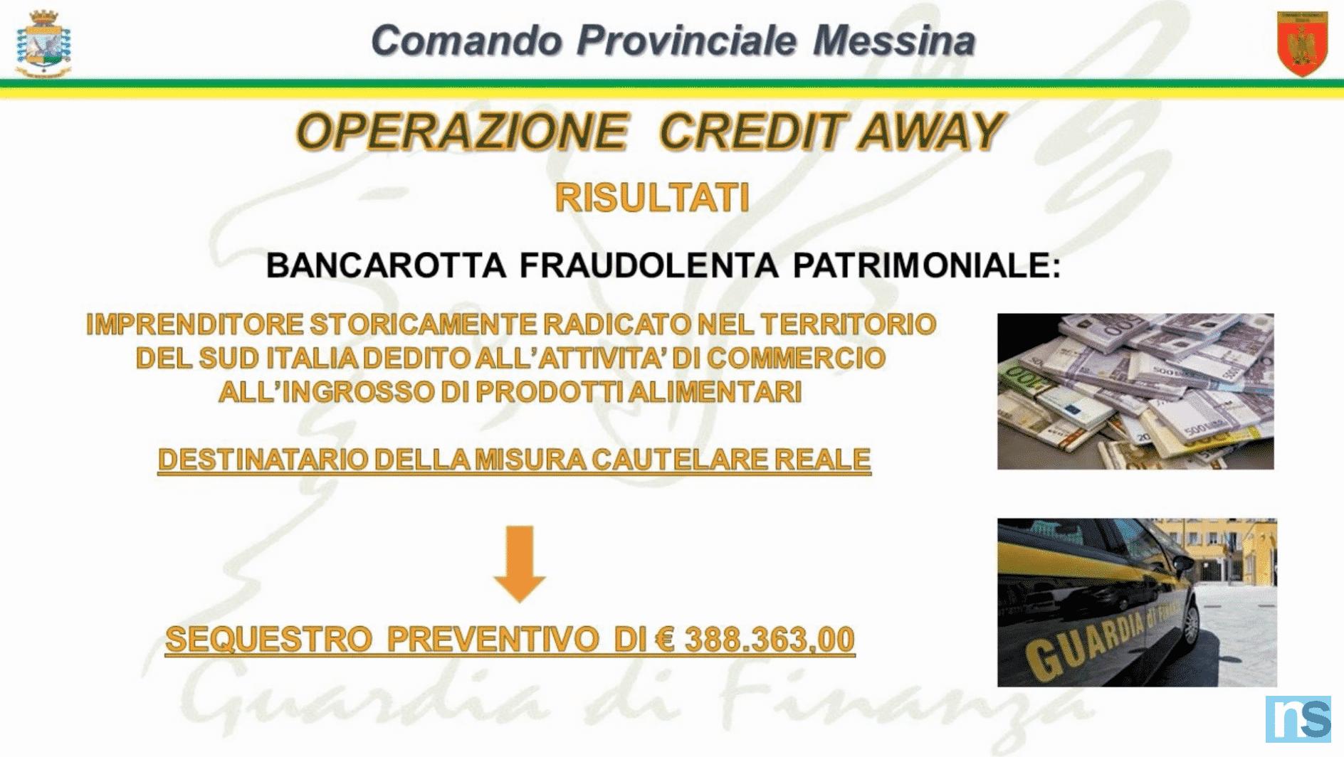 """Operazione """"Credit Away"""", sequestro di beni a noto imprenditore operante nella distribuzione alimentare – VIDEO"""