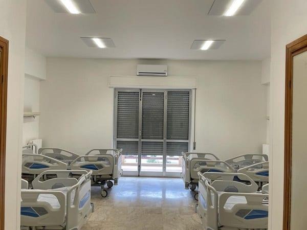 """Covid Palermo, 33 nuovi posti di Terapia Intensiva all'ospedale Cervello: """"Punto di riferimento strategico sul territorio"""""""
