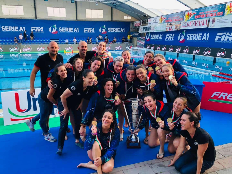 Pallanuoto, l'Ekipe Orizzonte Catania è campione d'Italia: battuta Padova in gara 5