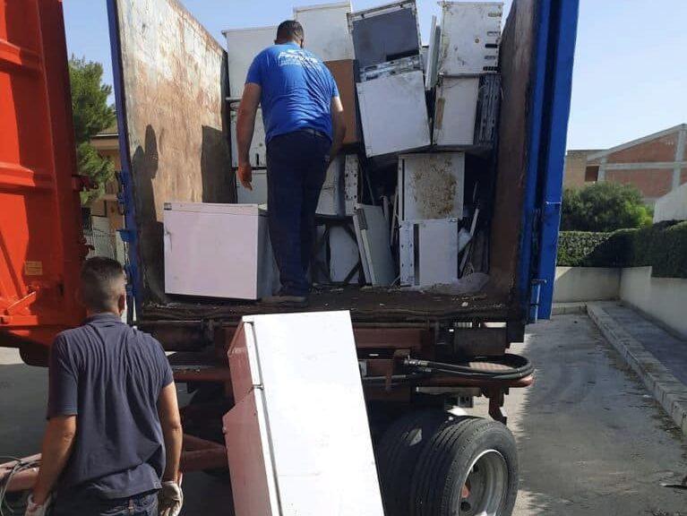 Santa Croce Camerina, rimosse 5 tonnellate di rifiuti ingombranti – Le FOTO