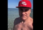 """Bobo Vieri a San Lorenzo, il VIDEO in una spiaggia da sogno: """"Sapete dove sono? In Sicilia"""""""
