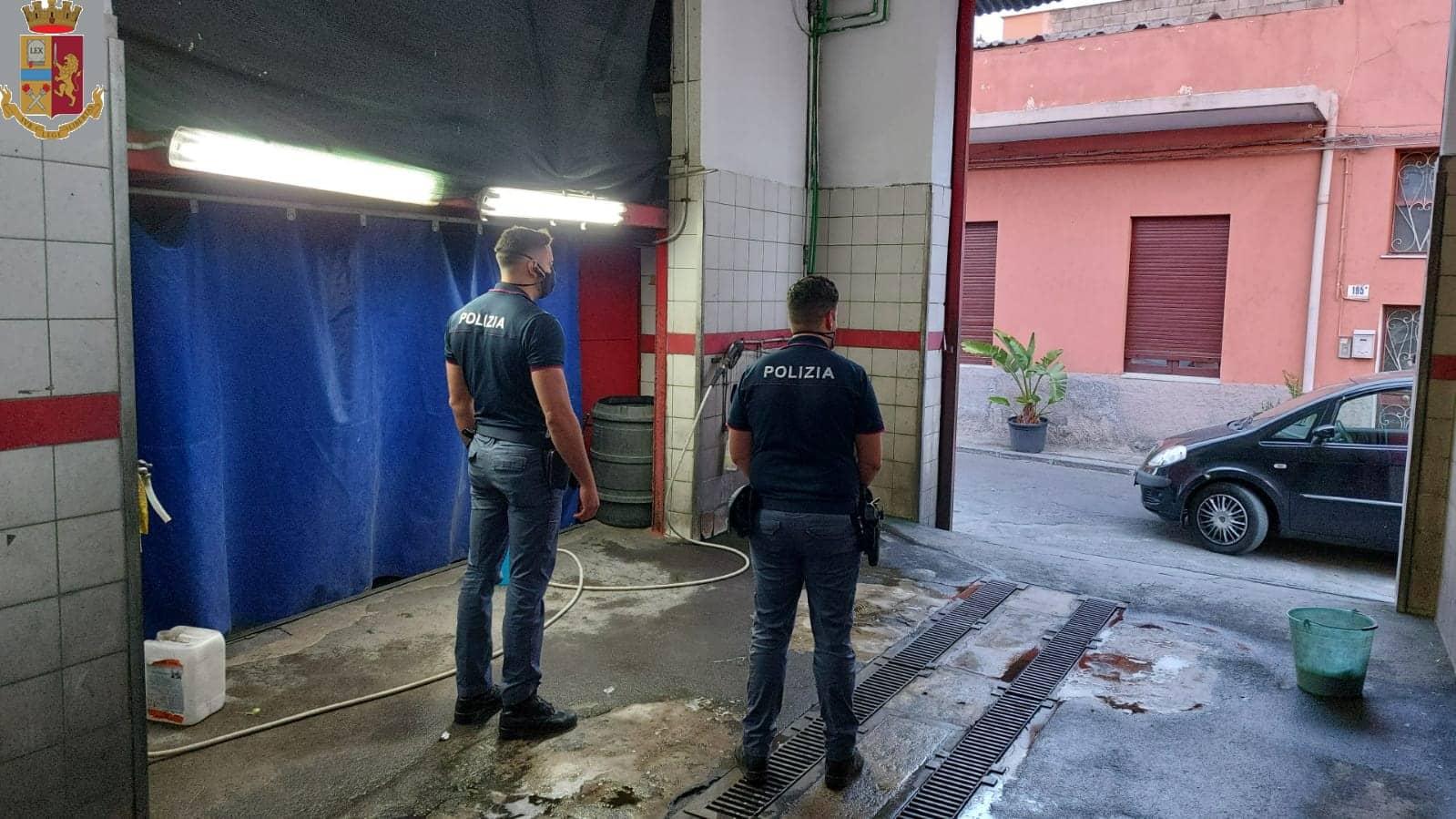 Catania, lavoratori sfruttati e in nero: blitz in attività di autolavaggio, paghe per 2 euro l'ora – FOTO e VIDEO