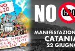 Il Coordinamento Siciliano No G20-Catania in piazza per il rispetto dei diritti e ricordare Adil Belakhdim
