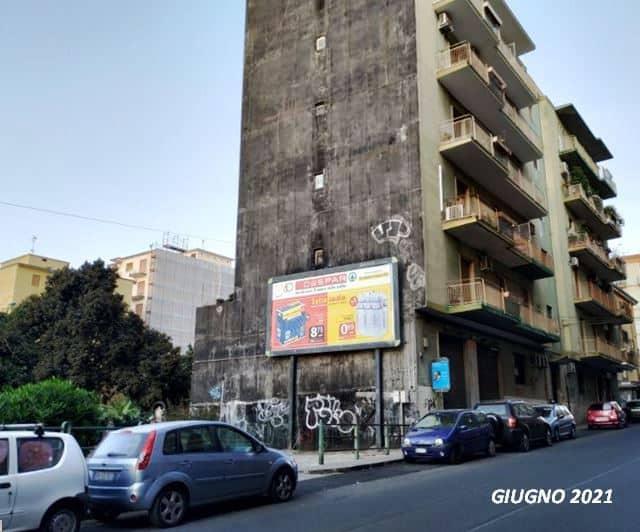 """Catania, palo della luce rimosso e non più riposizionato. Comitato Vulcania: """"Via Ingegnere al buio"""""""