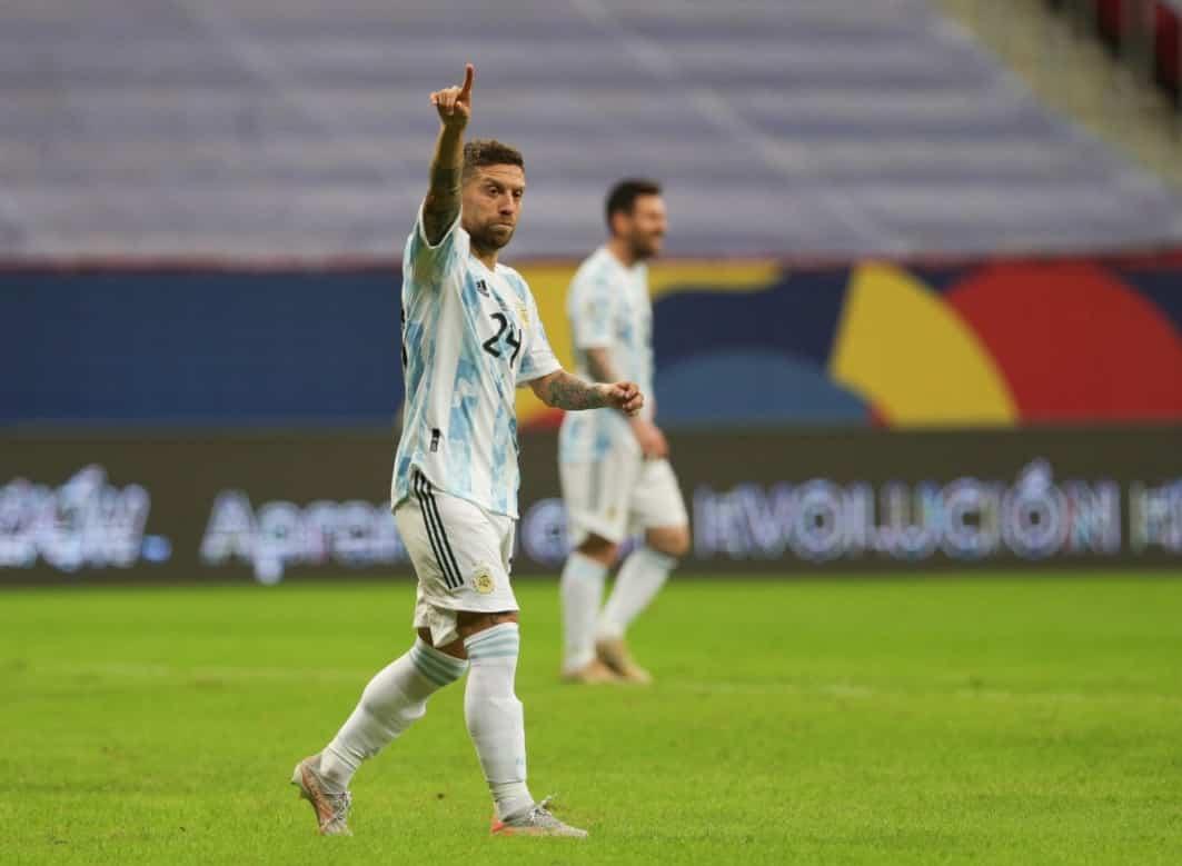 """""""Tracce"""" di Catania anche in Copa America, l'ex Papu Gomez segna e porta l'Argentina ai quarti"""