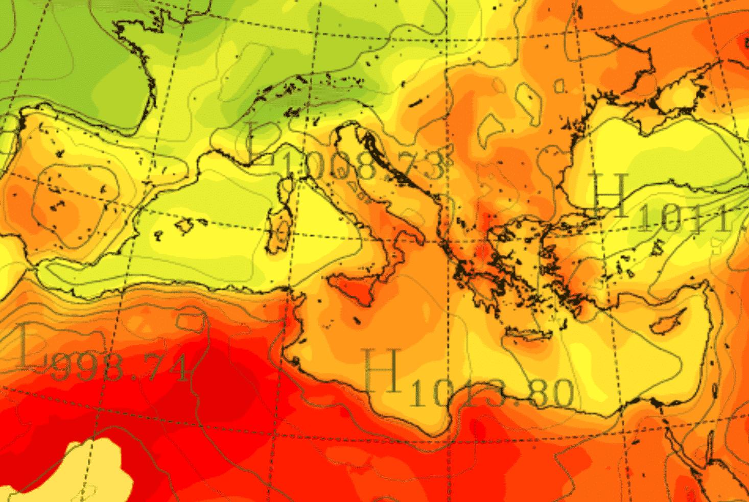 Meteo Sicilia, non si arresta l'ondata di calore: domani temperature estreme e allerta massima su Catania e Messina