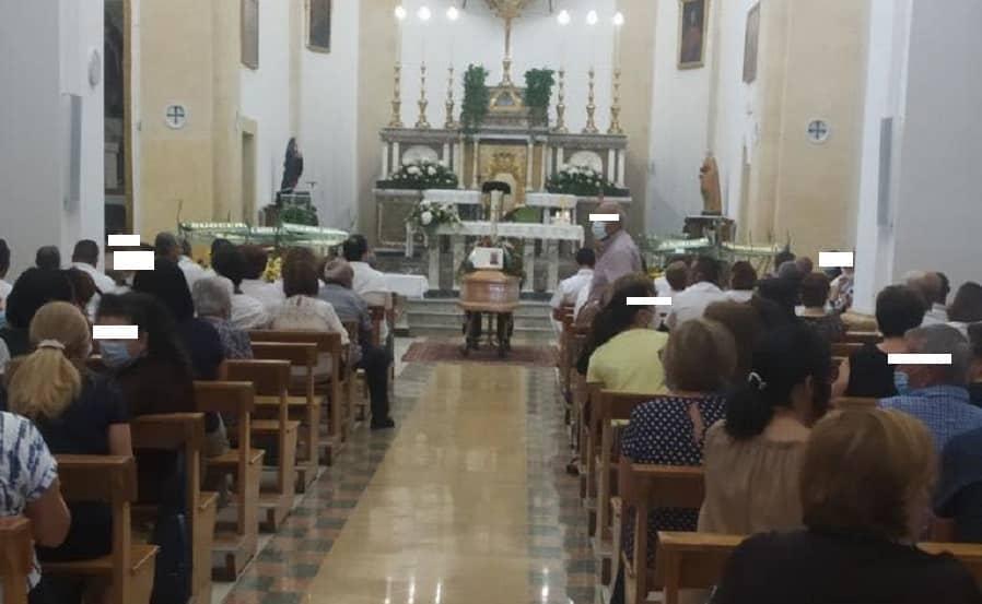 """Avola, si sono svolti i funerali di Sebastiano Presti: """"Vittima del lavoro, lascia moglie e figli"""""""