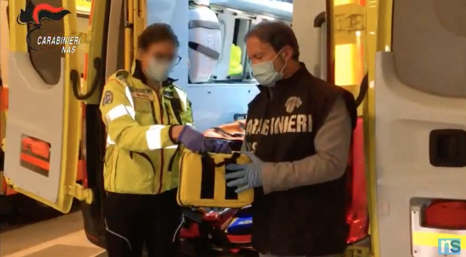 Controlli nelle ambulanze, i dettagli e le immagini video dei sequestri in Sicilia