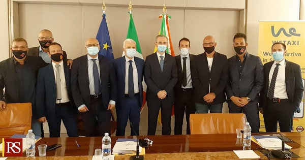 """Trasporti, assessore Falcone: """"Al via in Sicilia all'App e ai servizi Wetaxi"""""""