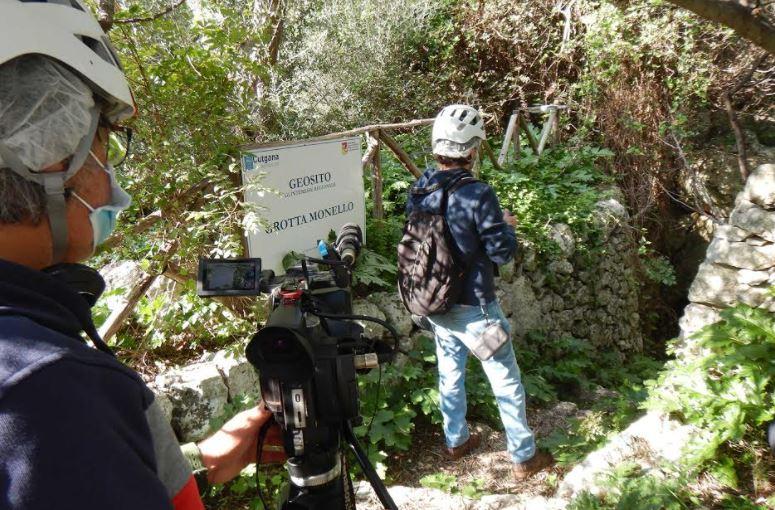 """Su Italia Uno la """"Grotta Monello"""", riserva naturale di Siracusa gestita da UNICT"""