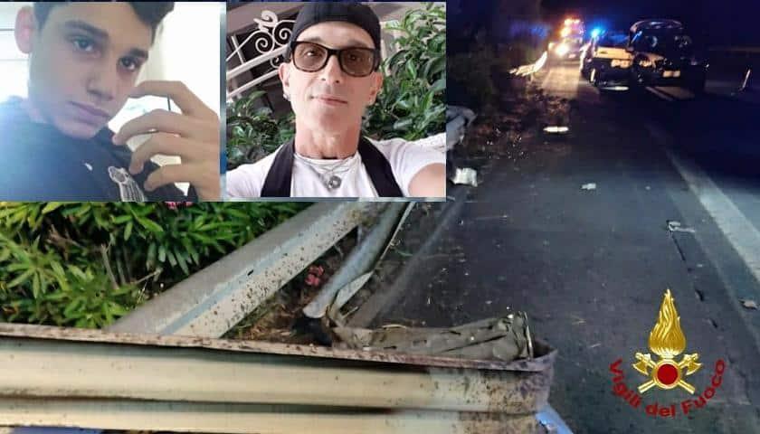 Tragedia A18, famiglia originaria del Catanese: Noà insanguinato sull'asfalto, Fabio morto in auto