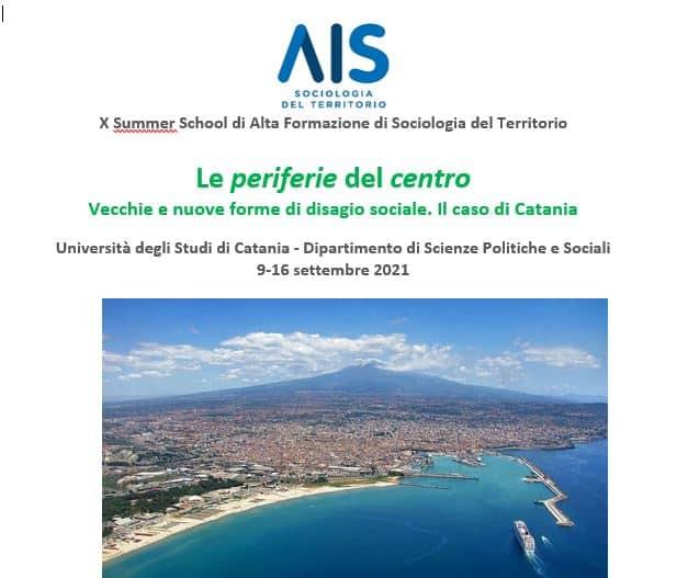 Le periferie di Catania al centro della Summer School di Sociologia del Territorio