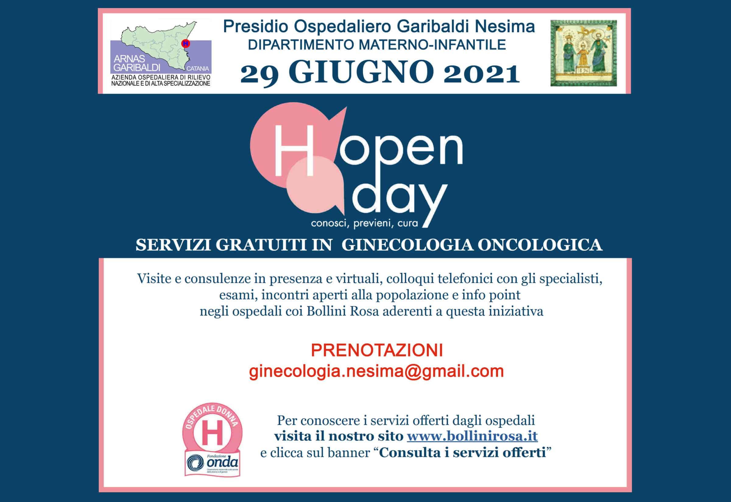 Visite ed ecografie gratuite al Garibaldi Nesima, ecco come prenotare nella Giornata nazionale salute della donna
