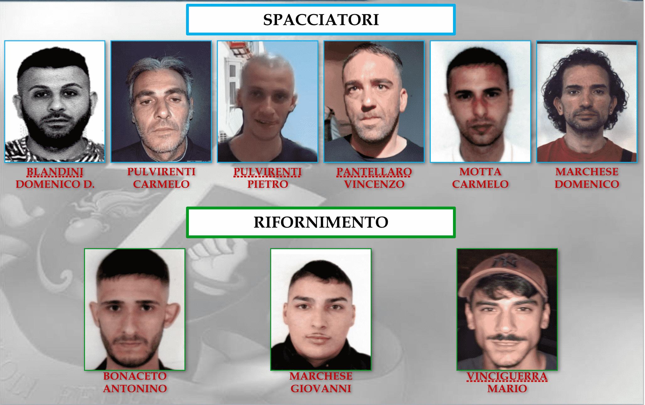 Operazione Piombai, 25 arresti a Catania: lo spaccio in mano alle donne – NOMI, FOTO e RUOLI