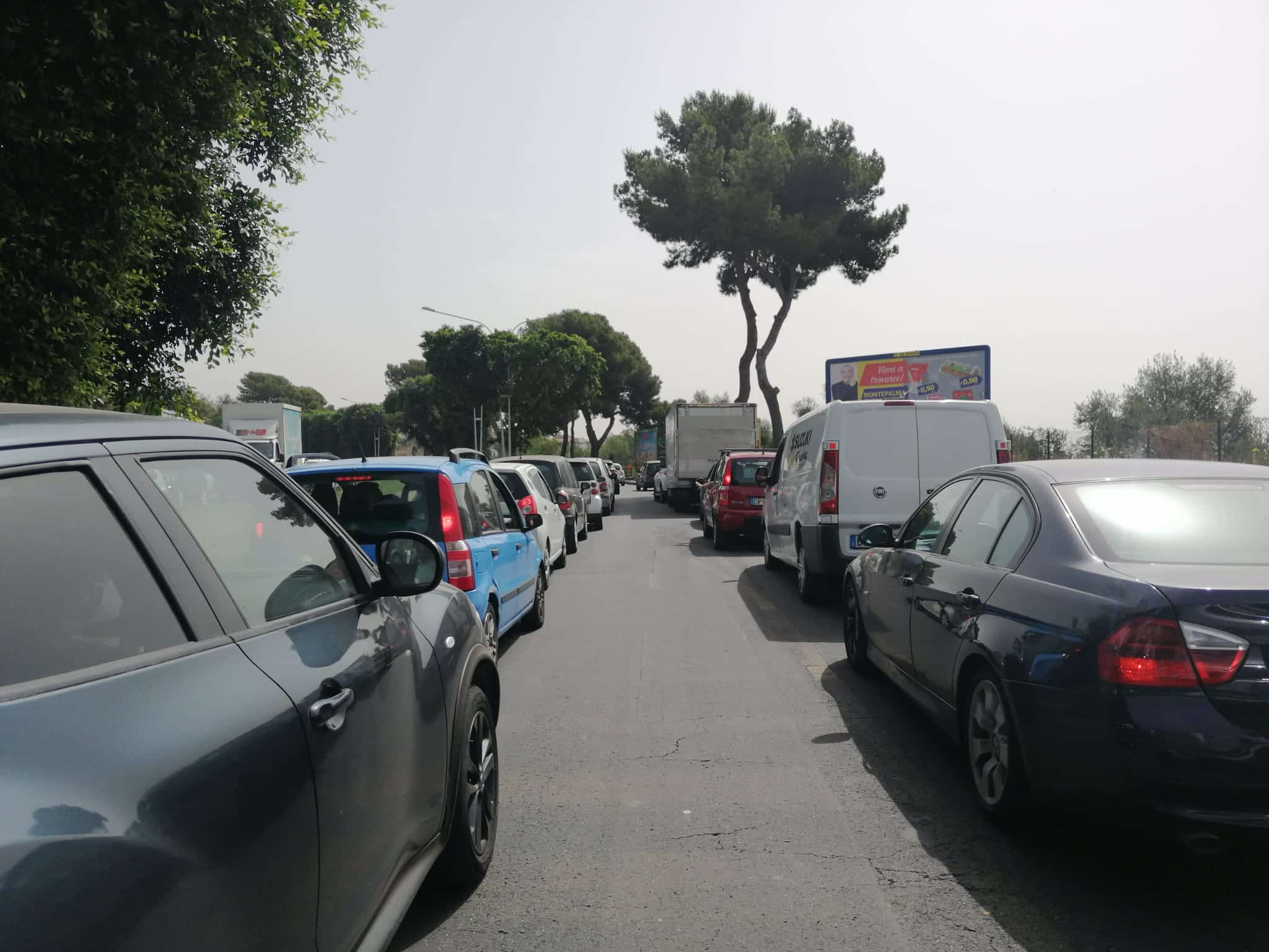 """A Catania circonvallazione bloccata nelle ore di punta, Buceti: """"Presidiamo la zona con pattuglie per evitare incidenti e ritardi"""""""