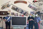 Rubato un televisore ad anziano, i carabinieri rintracciano l'autore del furto