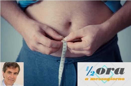 """Dieta, sovrappeso e obesità: dalle soluzioni ai farmaci, ne parliamo con il Dr. Mazzarino domenica a """"Mezz'ora a Mezzogiorno"""""""
