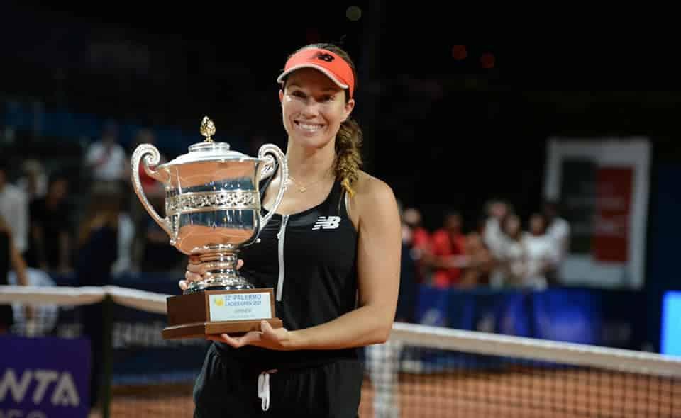 """Tennis, la statunitense Danielle Collins conquista i Palermo Ladies Open: """"Ho vinto grazie ai medici"""""""
