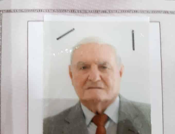 """Anziano scomparso, si cerca Giuseppe Giammarinaro: """"Non è in grado di percorrere molta strada a piedi"""""""