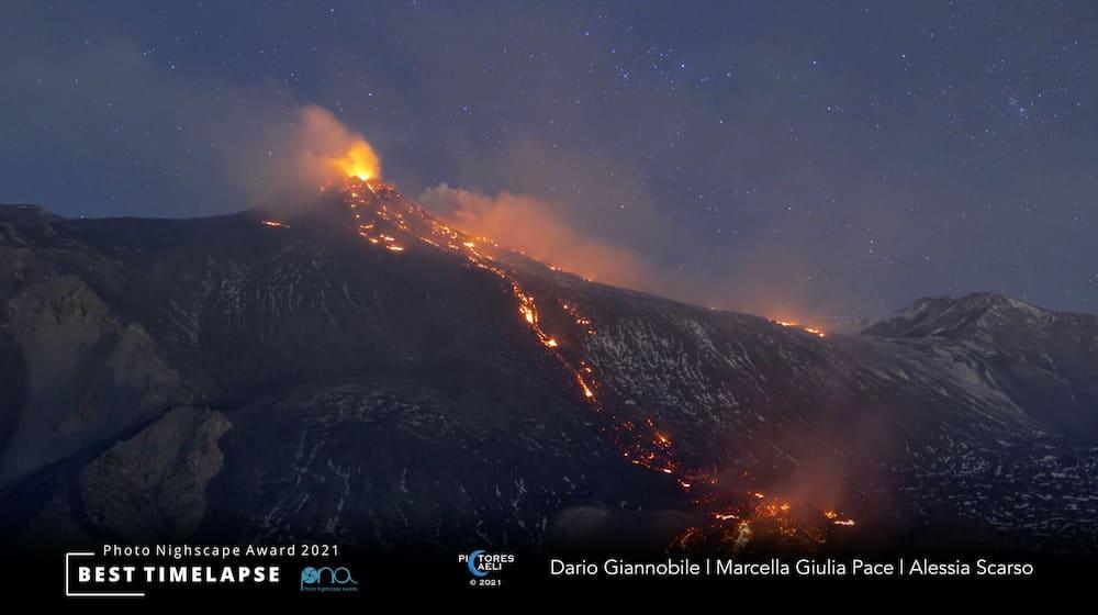 Tre fotografi siciliani vincono prestigioso concorso internazionale: l'Etna al centro dell'opera