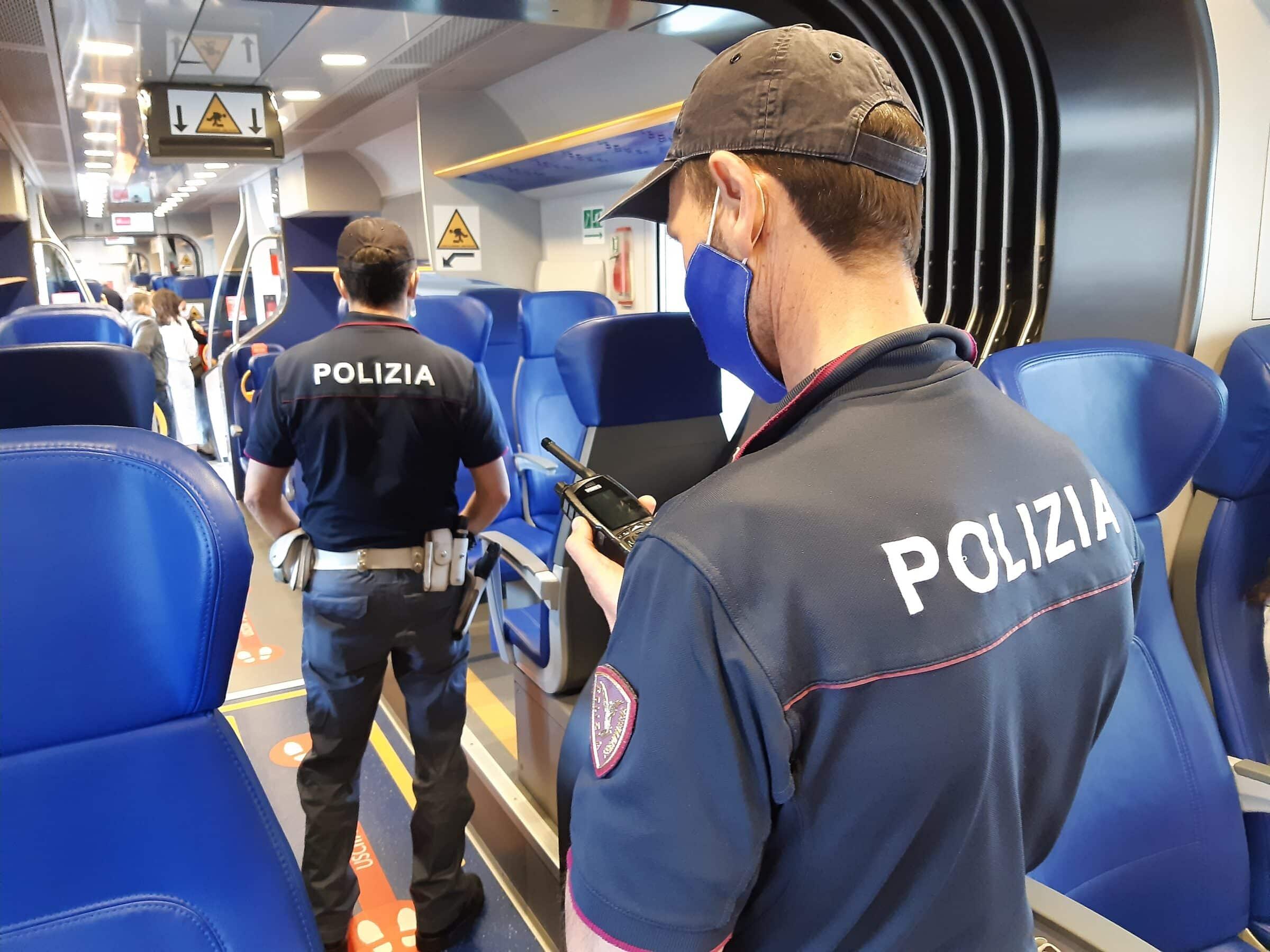 Polfer: maxi controllo con 1 arrestato 2 indagati, 2.468 persone controllate, 30 treni presenziati