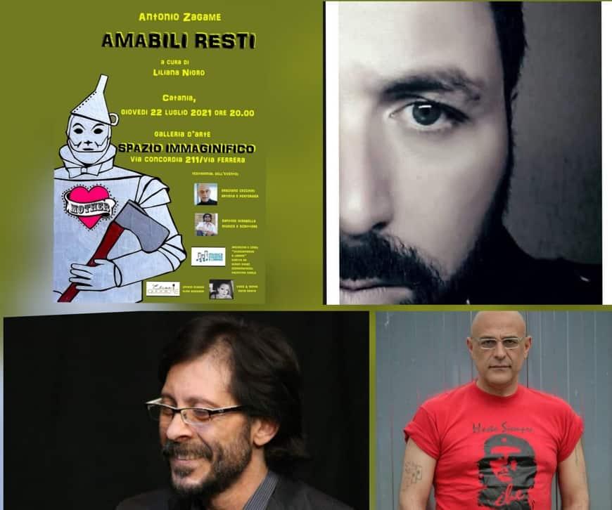 """Conto alla rovescia per l'attesa mostra """"Amabili Resti"""" dell'artista Antonio Zagame"""