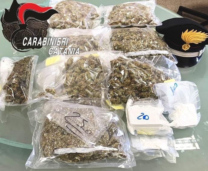Cocaina, marijuana e materiale per il confezionamento nel garage: si aprono le porte del carcere per Andrea Florio