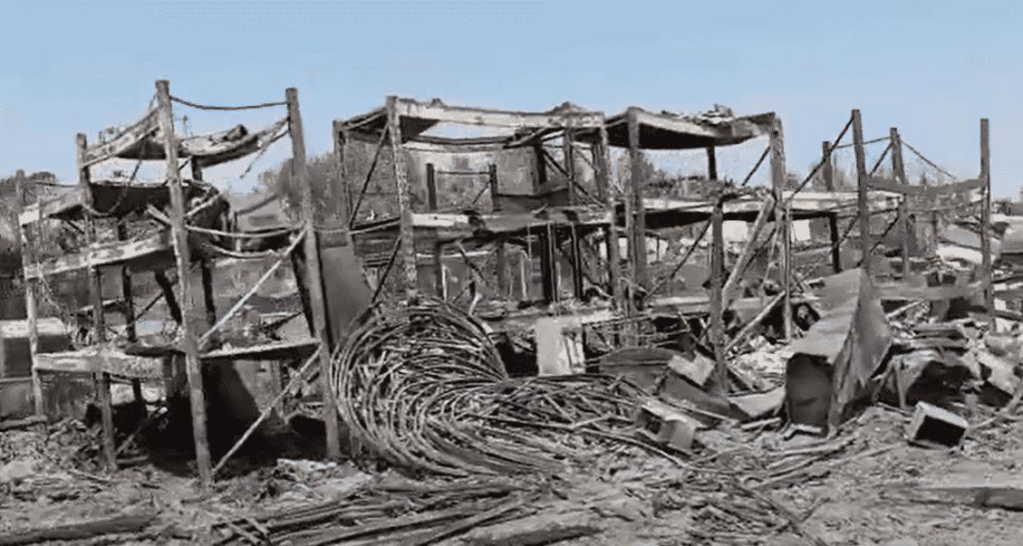 Catania in fiamme, le immagini video di quel che resta del lido Le Capannine: la denuncia di Barbagallo
