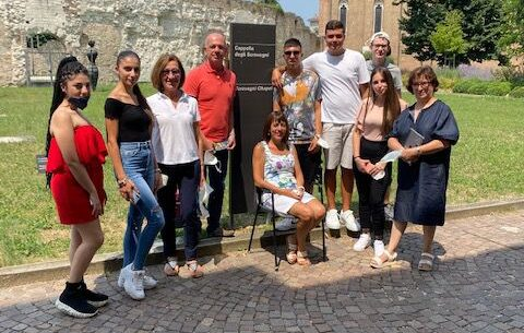 """Scuola aperta in estate, l'I.T.I. """"Cannizzaro"""" di Catania visita Verona e Padova"""