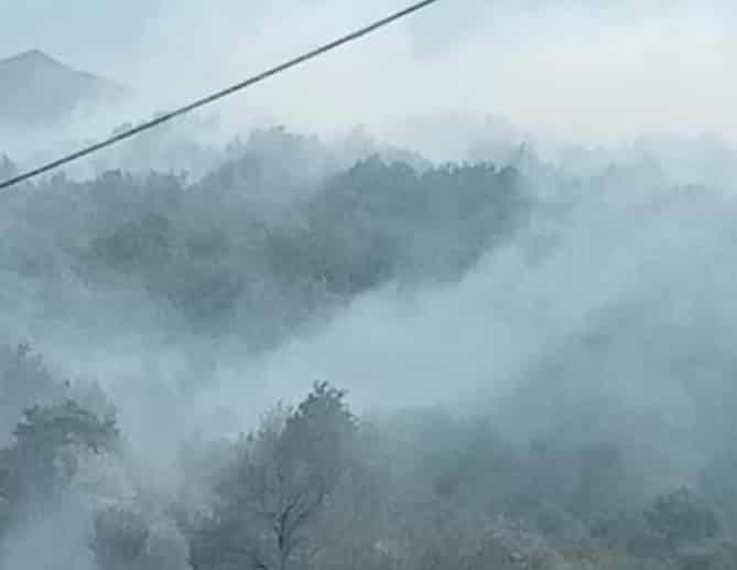 Catania e provincia ancora in fiamme, brucia il Parco dell'Etna: Forestale e vigili del fuoco sul posto