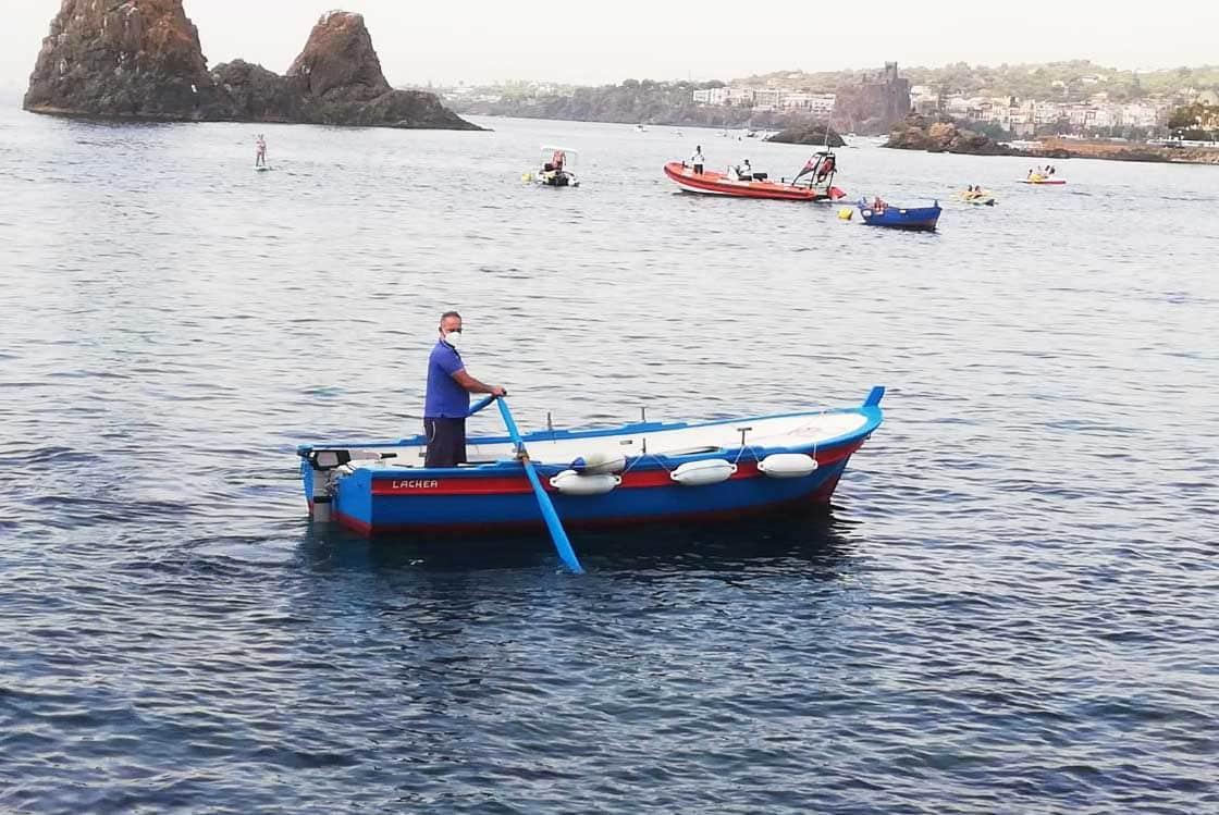 """Catania, navigazione """"green"""" per Unict: natante verso l'Isola di Lachea con motore elettrico"""