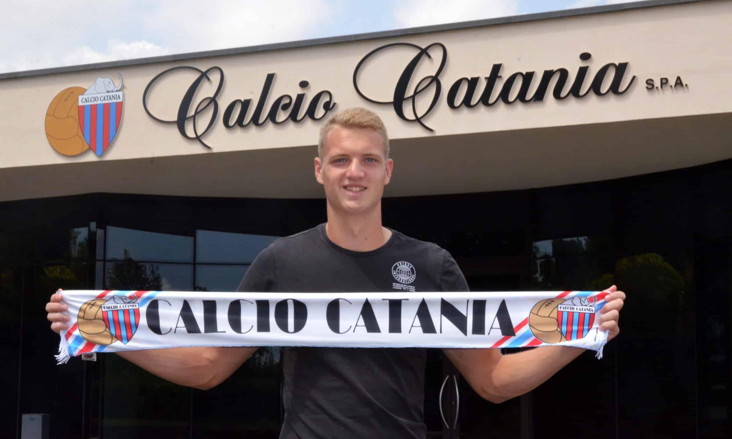 """Catania, c'è il successore di Sarao: ufficiale il giovane Leon Šipoš """"stregato"""" dai rossazzurri"""